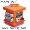Portable plastic enclosure power supply