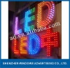 outdoor club Frontlit led letter