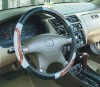 steering wheel cover for PU,PVC,rubber
