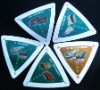 irregular shape promotional poker card