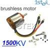 1500KV Outrunner Brushless Motor with mount