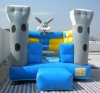 inflatable bunny bouncer B1098