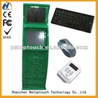 touch screen Dual Display Terminal Kiosk