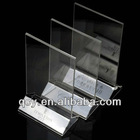 Exquisite acrylic menu holder