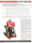 marine floatation spray foam machine JHPK-IIIB235 supplier