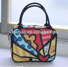 2011fashion colorful luch box using special printing material with free shipping