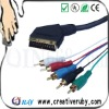 Scart to Hdmi Cable 21Pin: