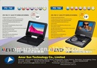"7"" Portable DVD Player with full features"