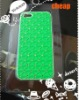 plastic cheap green cover case for iPhone 5