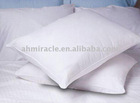 100% cotton cover white goose feather pillow