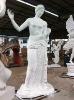 Outdoor garden statue figures Eros