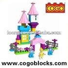 COGO plastic building block barbie princess for 3 years & up
