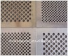 galvanised perforated metal mesh