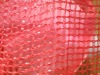 Red PP tubular mesh bag manufacture