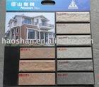 High quality stone 60x200mm Fujian Glazed tiles