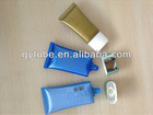 Super flat cosmetic plat tube plastic tube
