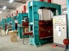 High frequency curved plywood press