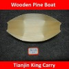 4 inch wooden pine boat