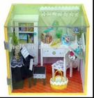 diy 4d toys house miniature,miniature doll house,house toy Piano Room