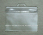 Bathing Promotional Packaging Soft Plastic PVC Bag With Hole