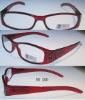 New fashion style plastic reading glasses 20D