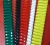 pvc binding comb