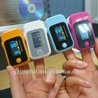 physical care device portable finger pulse oximeter