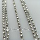 Fashion metal ball chain for garment