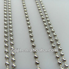 Fashion metal ball chain for garment