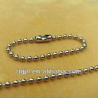 Fashion metal 1.5mm beaded chain