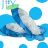 disposable PE nonwoven pp plastic blue overshoes medical shoe cover