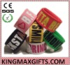 popular DIY reflective silicone slap bands wristband