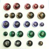 Resin combined button