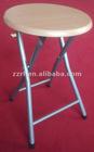 Cheap outdoor folding wood stool wholesale