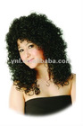 New arrival fashion curly indian synthetic full lace wig