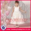 FGD003 hot design ball gown satin tulle flower girls dresses 2012