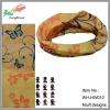 wholesale hot selling elastic designer bandanas