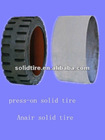 press-on solid tyre