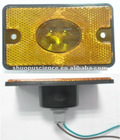 Yellow Bulb Truck Marker Lamps/Reflector