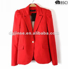 ladies fashion suits jacket& women's casual suits with shoulder pad