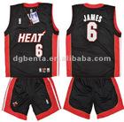 Summer V neck sleeveless men basketball suit,dry fit basketball clothing