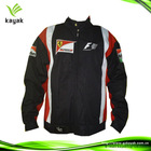 Popular design motorcycle leather jacket with hump