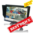 7 Inch TFT Lcd car monitor With 4 CH Video Inputs
