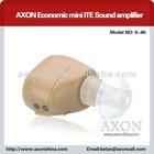 AXON Economic mini ITE Sound amplifier hearing aid with CE K-86