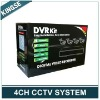 Hot 4ch Standalone DVR With Camera Surveillance