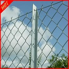 849)HOT SALE!galvanized /PVC chain link temporary fence/chain link fencing(ISO9001/2000)