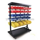 74 bins Storage Bin system floor rack (202732)