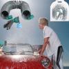 cleaning gun, spray gun, EVA coil hose