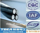 French standard cable supplier ,ASTM DIN Parallel Bunched Aerial Insulated Cable,Aerial insulated cable,Overhead insulated cable