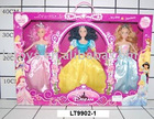 plastic doll toy set for girl